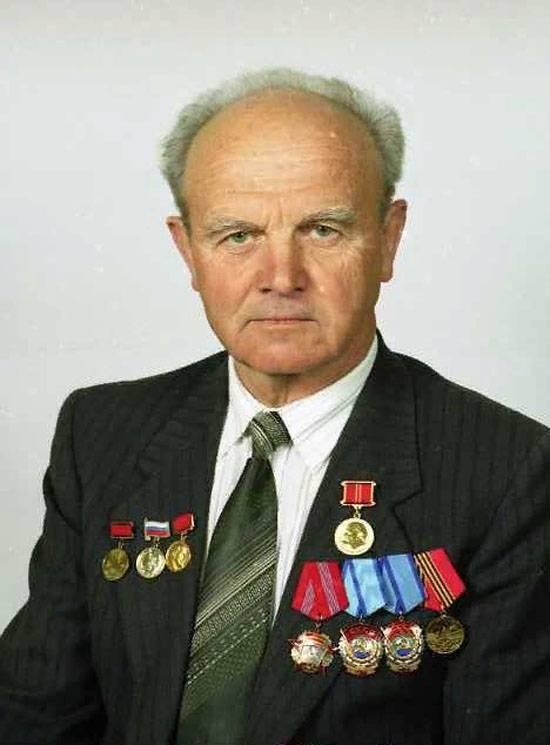 "The designer of the tank defense ""Drozd"" and shells ""Krasnopol"" Vasily Bakalov passed away"