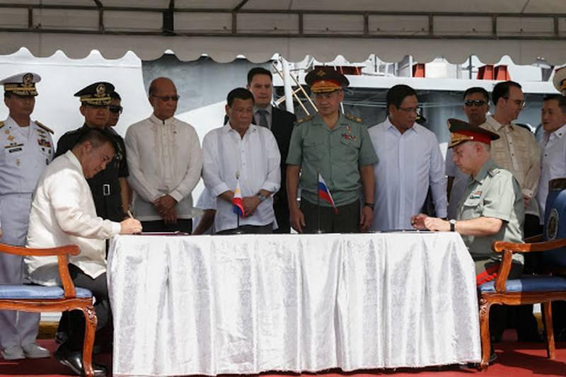 Die Philippinen beabsichtigen, russische Militärhubschrauber zu kaufen