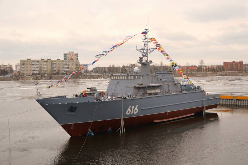Project 12700 sea minesweeper Yakov Balyaev launched in St. Petersburg