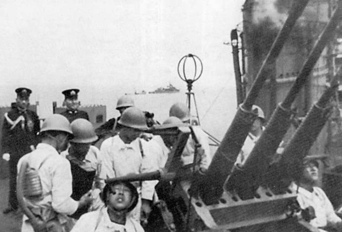Buques de guerra Cruceros. Un paso a la perfección