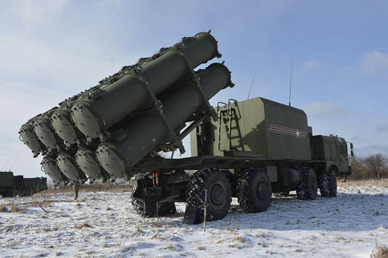 The Bal coastal missile system entered service with the Caspian Flotilla