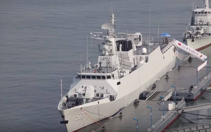 PLA Navy received the 49th and 50th Type-056 / 056A corvettes
