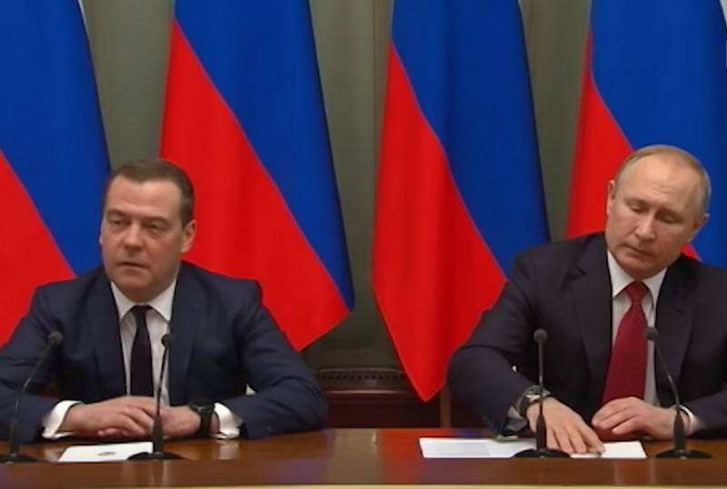 Putin determined the salary of Medvedev in a new position