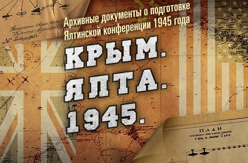 Defense Ministry declassified documents on the Yalta Conference of 1945