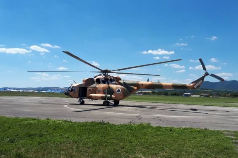 The Pentagon is looking for a contractor for the repair of helicopters Mi-17 Afghan Air Force