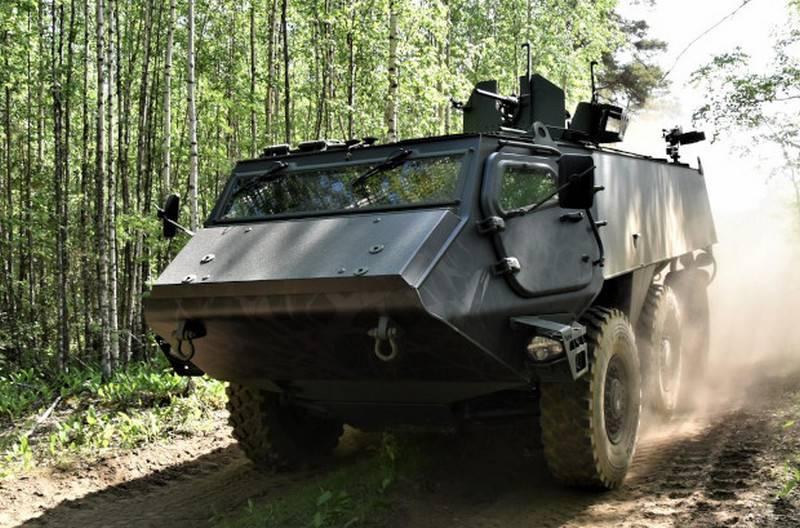 芬兰和拉脱维亚将联合开发新型装甲运兵车
