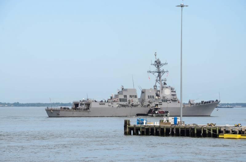 Второй флот США готов потягаться с Россией за Арктику
