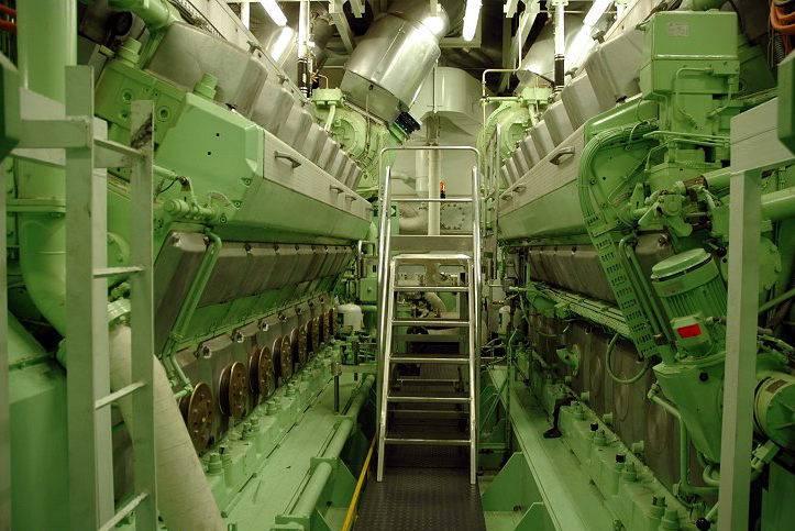 बॉयलर टरबाइन जहाजों के उपयोग की आर्थिक दक्षता पर