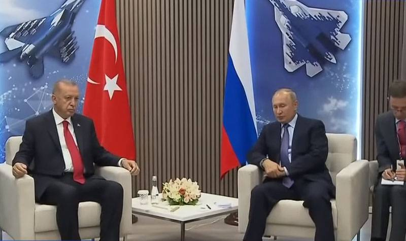 Putin - Erdogan: Only one side of the conflict in Syria can not observe the de-escalation regime