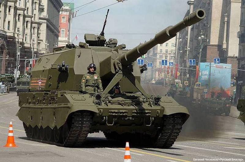 """Le dernier obusier 2S35 """"Coalition-SV"""" entrera dans l'armée au plus tôt en 2022"""