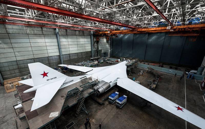 国防部称这是深度现代化的Tu-160M的交货时间