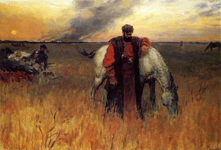 Das Ende des Bauernkrieges von Stepan Razin und das Schicksal der Häuptlinge