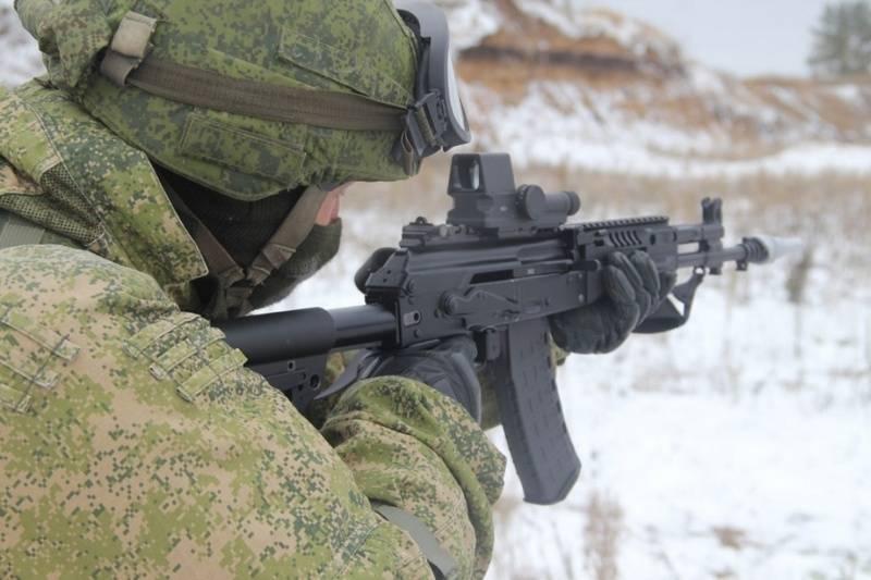 AK-12 असाल्ट राइफलों के पहले बैच ने BBO स्काउट्स के साथ सेवा में प्रवेश किया