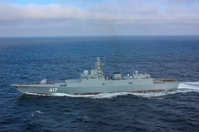Zwei weitere Fregatten des Projekts 22350 werden in Severnaya Verf gebaut