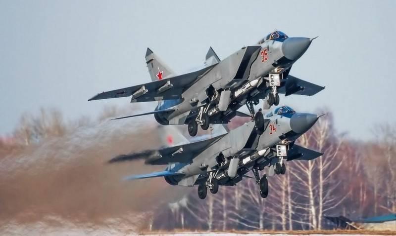Die Pazifikflotte der Seeflugzeuge erhielt eine weitere verbesserte MiG-31BM