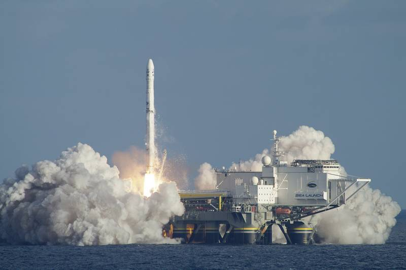 """The media reported the date of relocation of the floating launch site """"Sea Launch"""""""