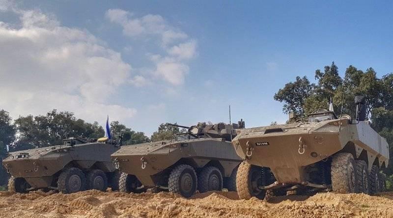 """इजरायल ने पहिएदार बख्तरबंद कार्मिक वाहक """"इटान"""" का बड़े पैमाने पर उत्पादन शुरू किया"""
