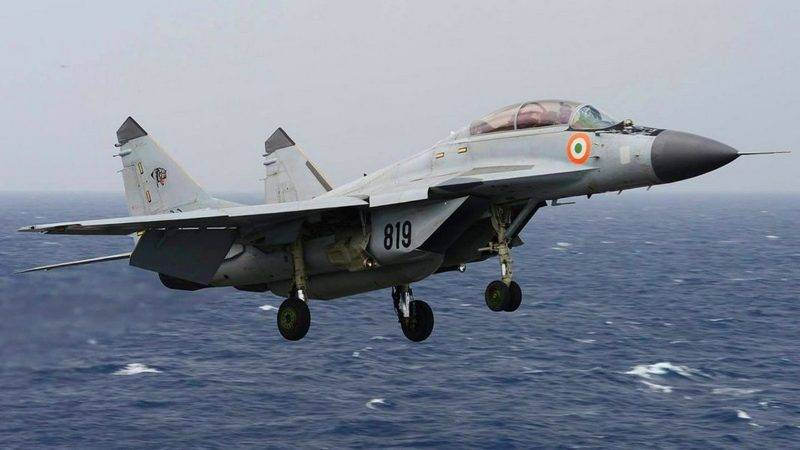 """India did not send a request for the supply of MiG-29K for the aircraft carrier """"Vikrant"""""""