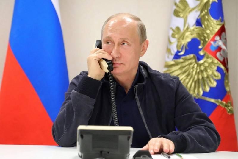 Путин и Эрдоган по телефону обсудили ситуацию в сирийском Идлибе