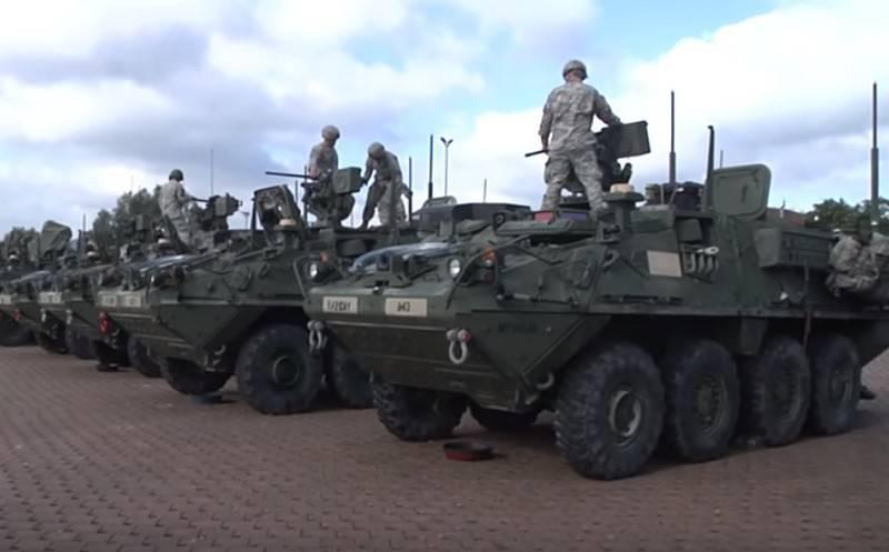 यूएस बीटीआर स्ट्राइकर सक्रिय सुरक्षा प्रणालियों के बिना छोड़ दिया