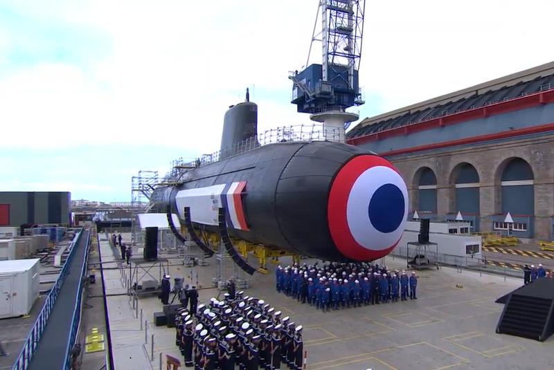 """O primeiro """"Barracuda"""" nuclear francês começou a testar"""
