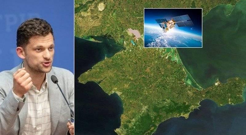 우크라이나는 위성을 사용하여 Donbass 및 Crimea 주민 수를 계산합니다.