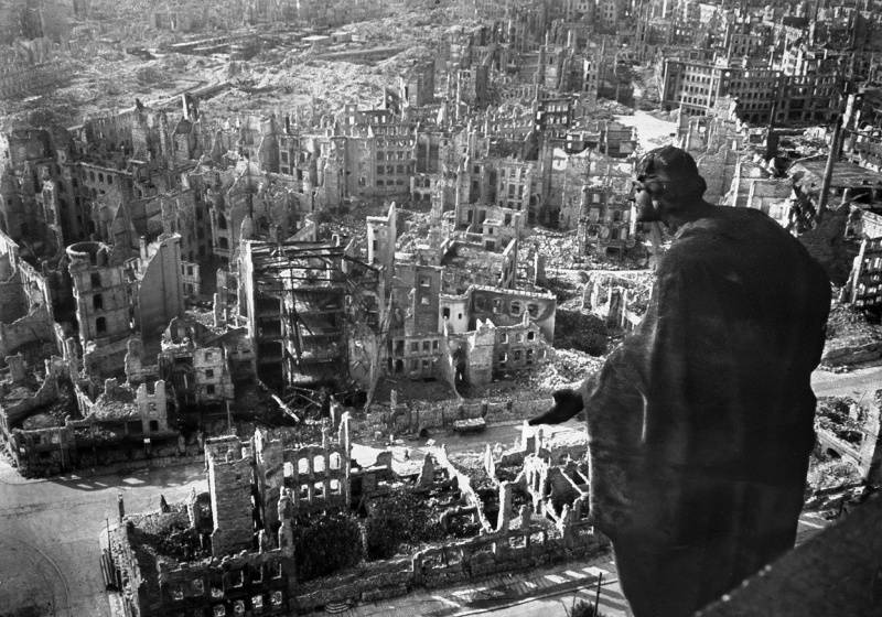 Why did the Americans and the British destroy Dresden