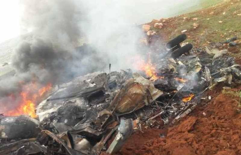 Syrian Air Force lost a second helicopter in four days