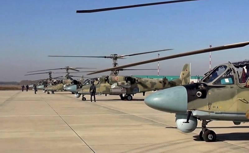 उन्नत Ka-52M एक विमान क्रूज मिसाइल प्राप्त करेगा
