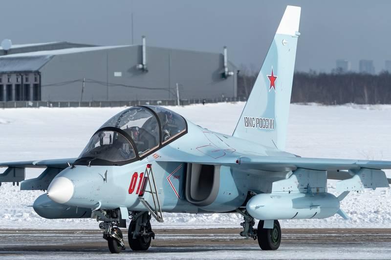 俄罗斯联邦VKS收到两架新型战斗训练机Yak-130
