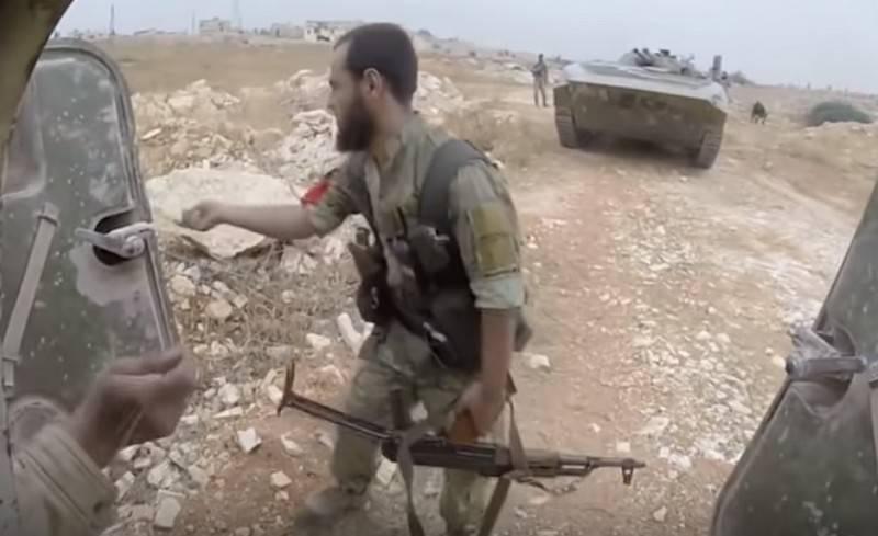 Pro-türkische Gruppen schlugen die syrische Armee in der Nähe von Aleppo