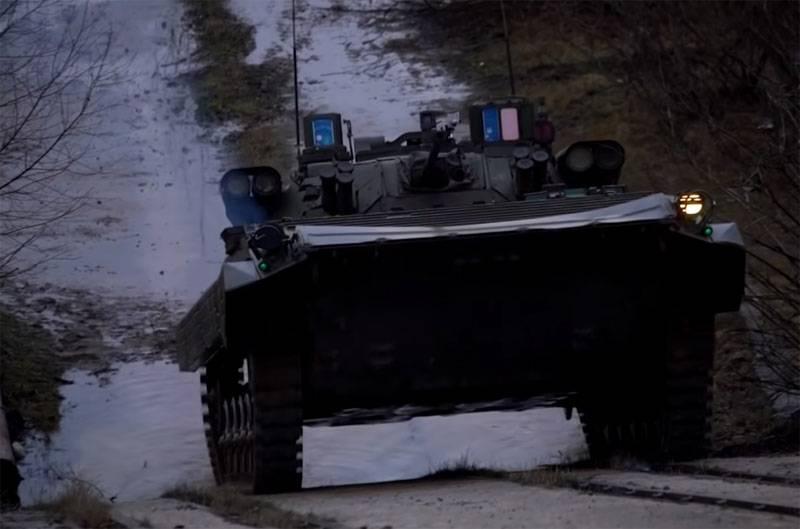 """""""Berezhok"""": die Fähigkeiten des Kampfmoduls auf dem BMP-2"""