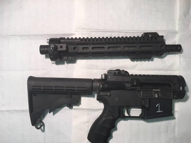 긴급 상황에 대한 GAU-5 / A. 미 공군 마스터에서 생존 소총