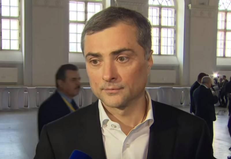Putin demitido Vladislav Surkov, assessor presidencial
