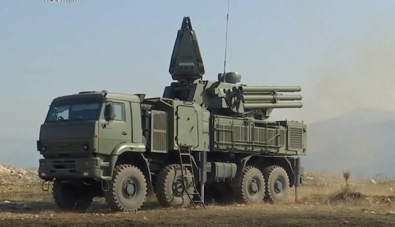 세르비아 국방부는 Pantsir-S 방공 미사일 시스템의 배달 시간에 대해보고