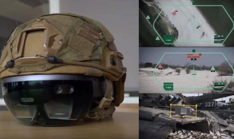 时尚的战斗配件。 美国陆军测试增强现实眼镜