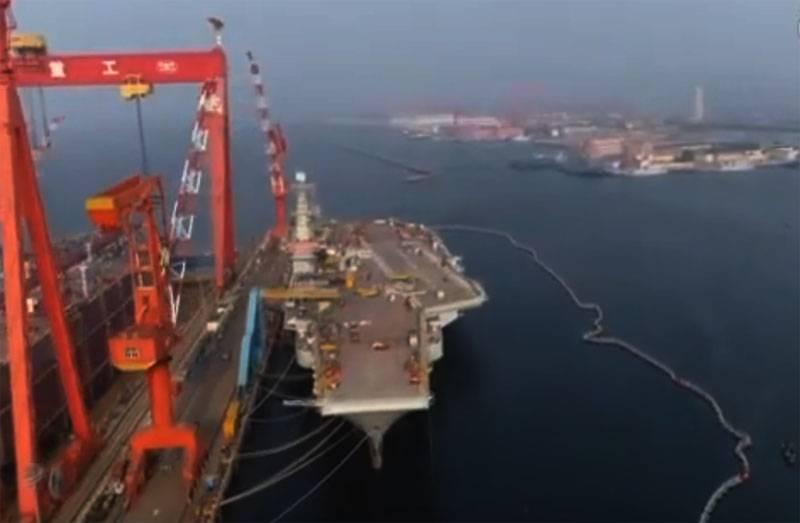 В Гонконге заявили о заболевшем коронавирусом моряке на авианосце «Шаньдун» ВМС Китая