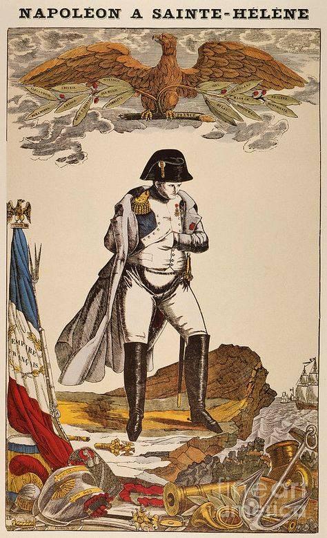 12 derrotas de Napoleão Bonaparte. Epílogo de Santa Helena
