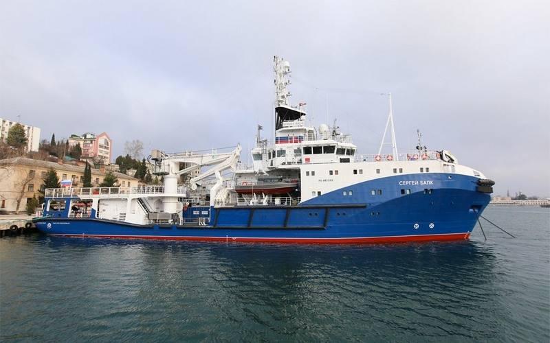 Frota do Mar Negro reabastecida com rebocador do projeto 23470