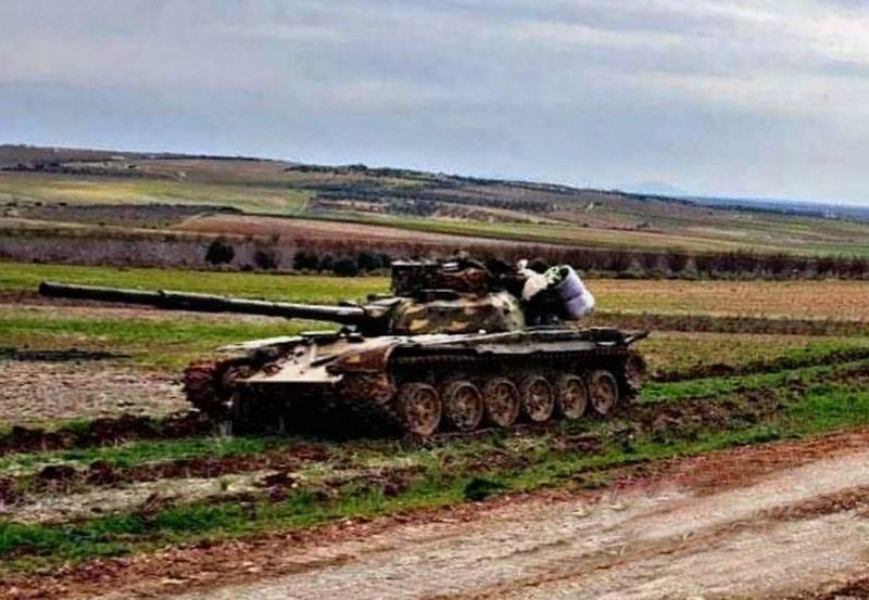Le réseau discute d'une étrange tentative de contre-attaquer la SAA à Nairab avec les forces d'un peloton et d'un char