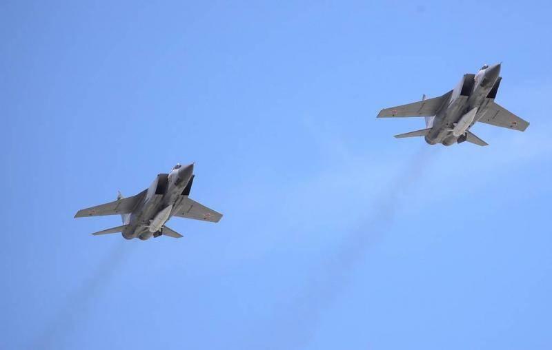 "MiG-31 regiment with hypersonic ""Daggers"" deployed in the Krasnoyarsk Territory"