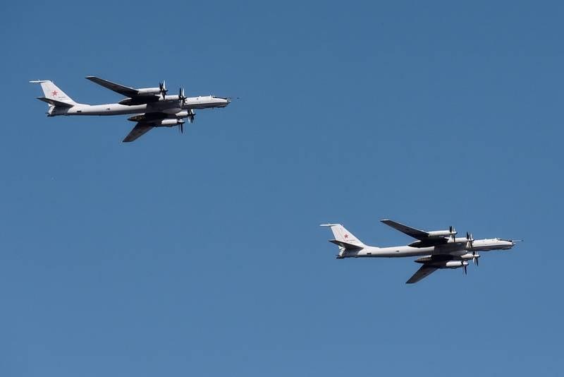 """""""Eles não pegaram"""": combatentes da OTAN não conseguiram encontrar o Tu-95 russo"""