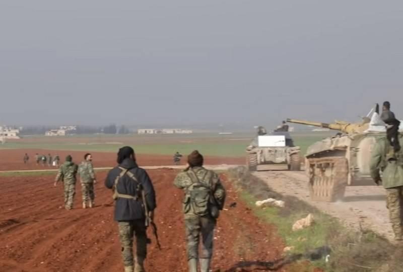 सीरिया की सेना ने दक्षिणी इदलिब में तीन बस्तियों को आज़ाद किया