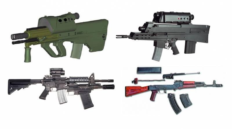 Комбинированное стрелковое оружие: причины, проекты и перспективы