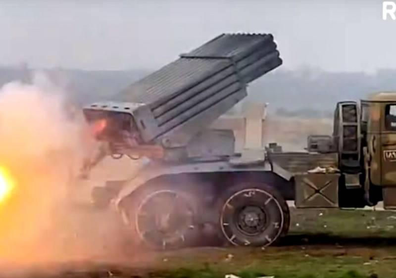 Какое эффективное оружие сирийская армия использует против боевиков в Идлибе
