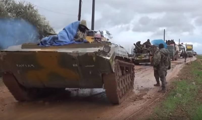 Выровняв фронт в районе Сармина, САА снизила угрозу фланговых турецких ударов