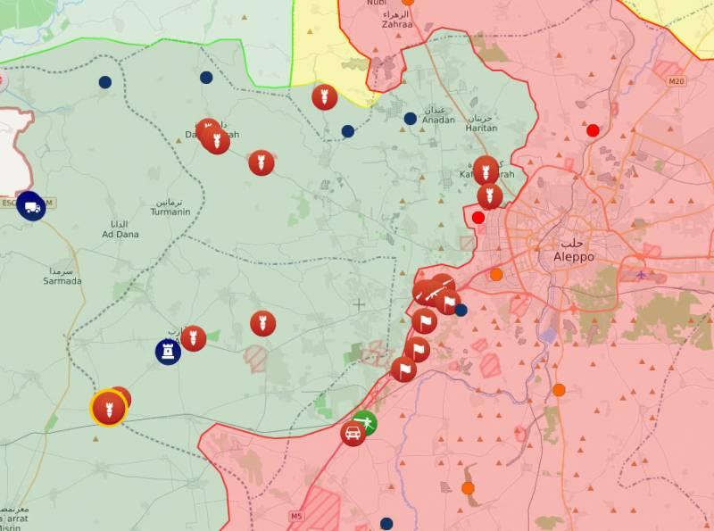 Показана переброска Турцией большого количества бронетехники к сирийской границе