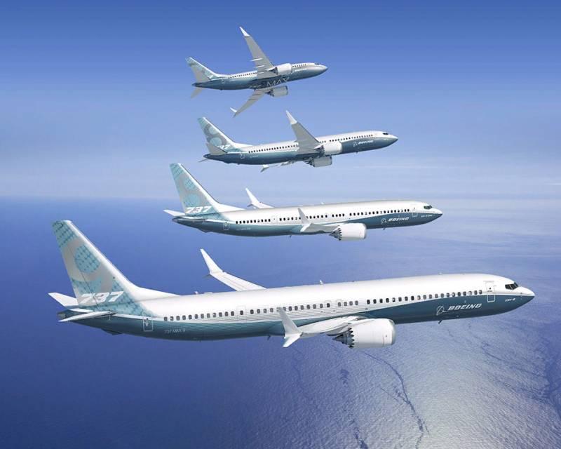 В США проверят 400 самолётов Boeing 737 MAX после обнаружения в баках посторонних предметов