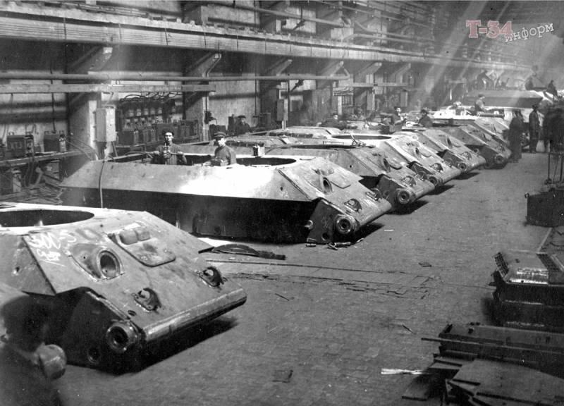 Трещины в броне. Дефектные Т-34 для фронта