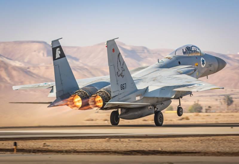 Израильское командование признало нанесение удара по провинции Дамаск